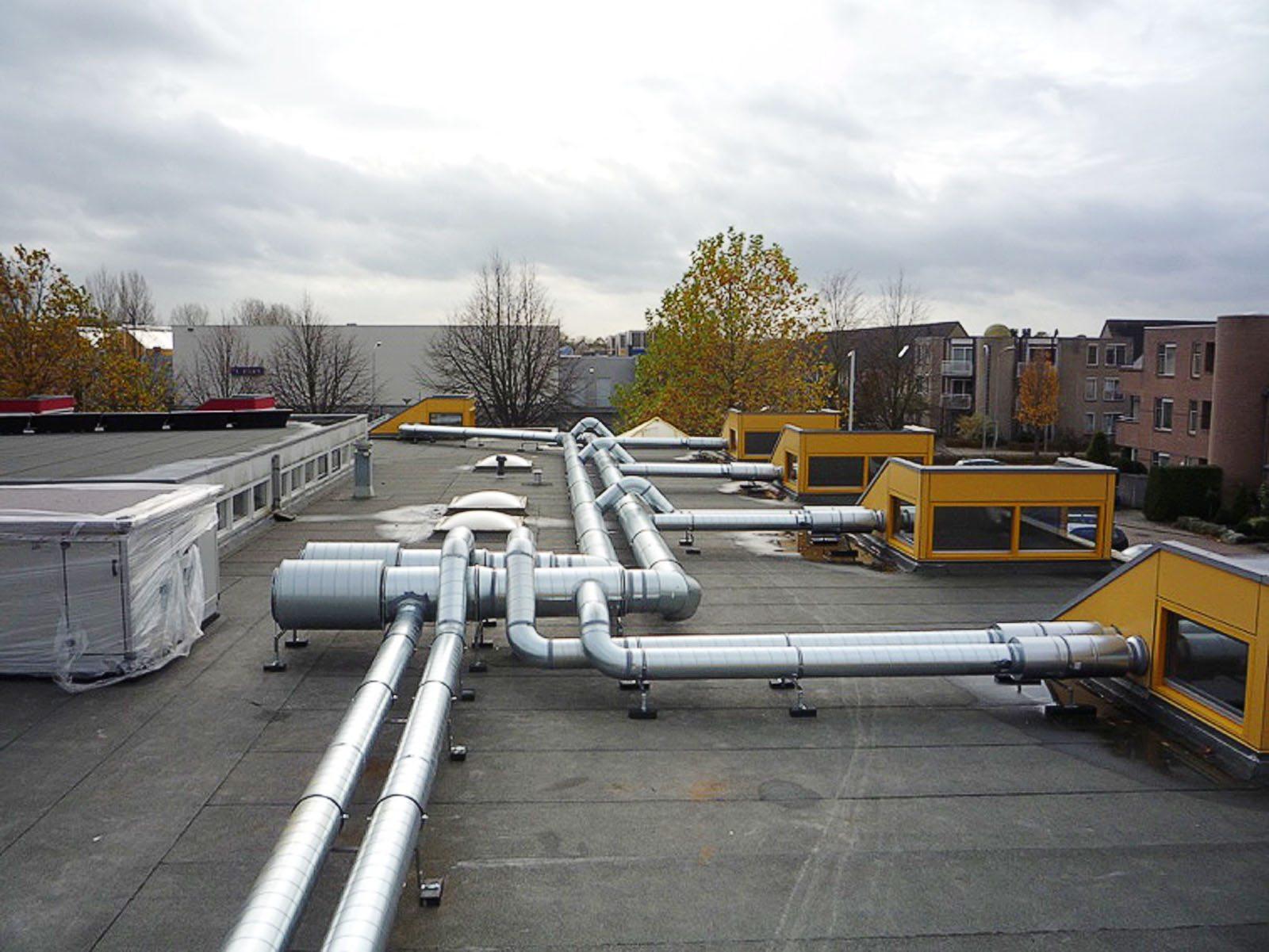 Ventilatie-installatie met warmteterugwinning